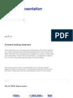 Investor Presentation Q419