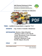 Informe Sobre Exportacion Uva
