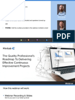 Minitab Webinar Presentation - The Quality Professionals Roadmap to Delivering Effective Continuous Improvement Projects.pdf