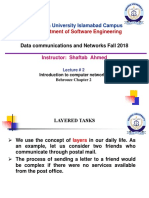 _2018 Data Com _NW Lect # 2 Protocol Layers