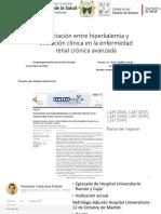 MIexpo. 04.10.19.Marquez.victor.asociación Entre Hiperkalemia y Evolución Clínica en La Enfermedad Renal Crónica Avanzada