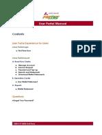 User Portal Manual