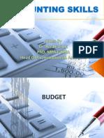Week 2 Cash Budget Variances BEP