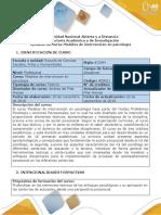Syllabus Del Curso - Modelos de Intervención en Psicología