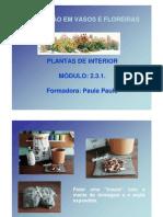 1195744003 Plantacao Em Vasos e Floreiras