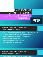 Goals of Araling Panlipunan