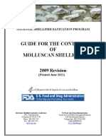 FDA 2011 - Guide for the Control of Molluscan Shellfish