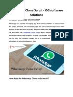 Whatsapp Clone Script-OG Software