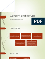Consent and Refusal
