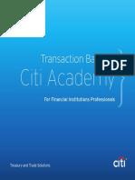 Citi Academy Coursebook 2016