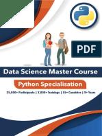 Digital Vidya Python Data Analytst Course