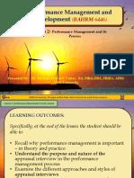 Performance Management-Lesson 2