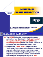 Industrial Plant Inspection November 2019