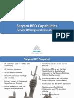 Satyam Bpo So&Cs 2008