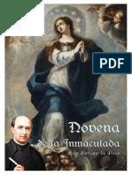 Novena a La Inmaculada. San Enrique de Osso