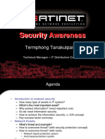 Security Awareness by Fortinet