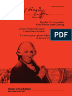Haydn Piano Sonates HobXVI 7 and HobXVI 43