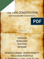 The 1935 Constitution