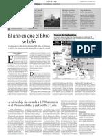 «El Año en Que El Ebro Se Heló»