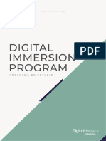 Digital Immersion Program
