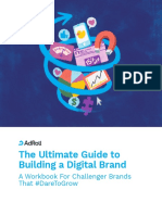 AdRoll Ultimate Guide to Building a Digital Brand Workbook