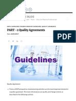 PART -2 Quality Agreements _ PharmaState Blog