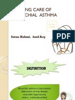 Nursing Care of Bronchial Asthma