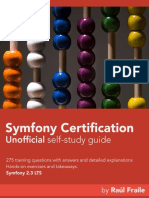 Symfony -certification book