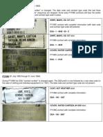 USGI Contract Numbers 1965-1966