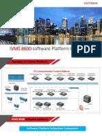 IVMS 8600 Platform Software Introduction