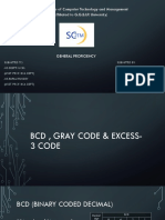 Bcd , Gray Code & Excess-3 Code (1)