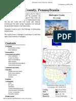 Washington County, Pennsylvania - Wikipedia