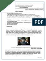 GUIA N° 1 PRINCIPIOS Y VALORES-2019