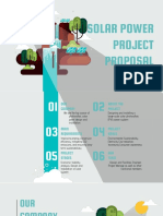 Solar Panel Sustainability Project Proposal