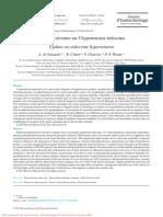 Données Récentes Sur l'Hypertension Endocrine