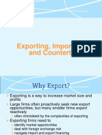 Exporting Importing and Counter Trade (1)