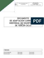 Adaptación Curricular 3er Ciclo
