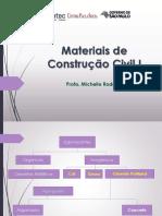 Materiais construção civil 1