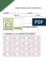 Prueba de Ed.l Matematica 2019