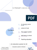 5 Reasons to Finland's Success in Education
