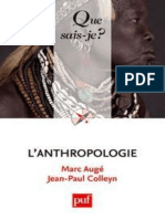 Auge Marc, Colleyn Jean-Paul- L'anthropologie.epub