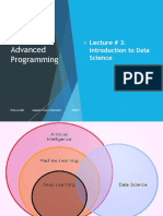 Introduction Data Science