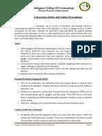 Org Chem Lab Manual - Content