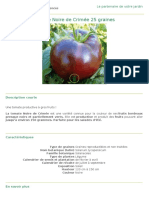 Tomate Noir de Crimee
