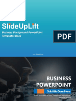 Business Background PowerPoint Templates Deck