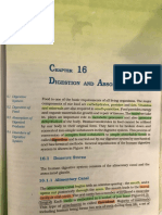 Digestion and Absorption Important Underlined Portions