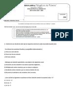 Evaluación 1ro BGU Matemática