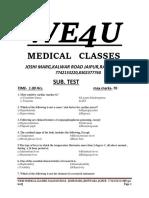 We 4 u Medical Classes