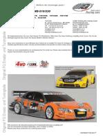 Instruction Manual FG 4WD Sportsline