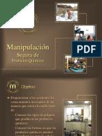 Manipulación Segura de Productos Químicos